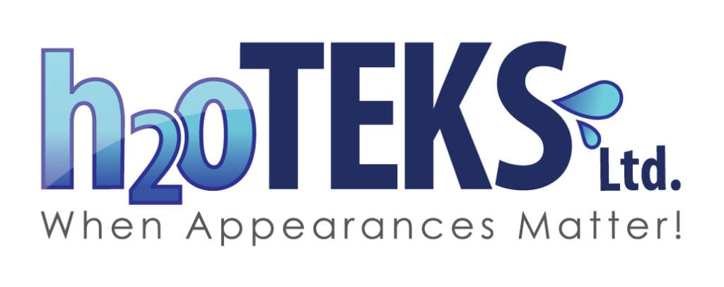 Window Cleaning, Pressure Washing, Roof Cleaning, Gutter Cleaning h2oTEKS logo