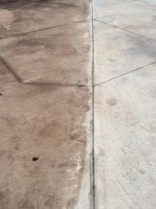 h2oTEKS Ltd restores concrete lot.
