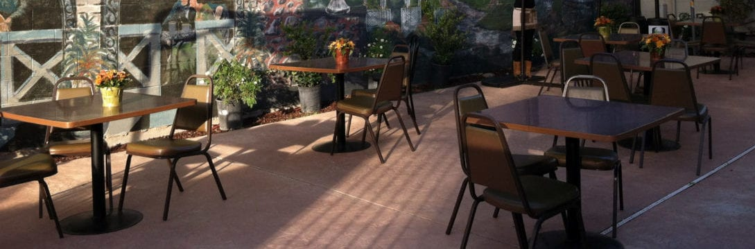 Restaurant Patio Cleaning