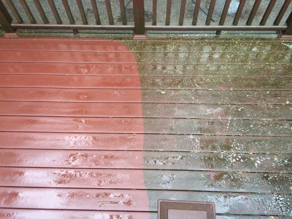 Composite Deck Wash 3